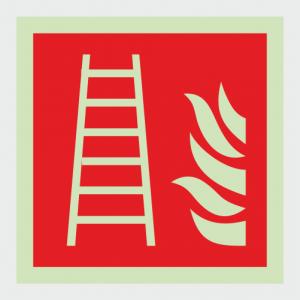 Fire Fighting Equipment Fire Ladder Sign