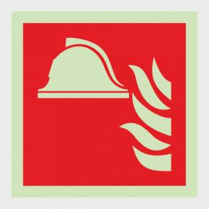 Fire Fighting Equipment Fire Locker Sign