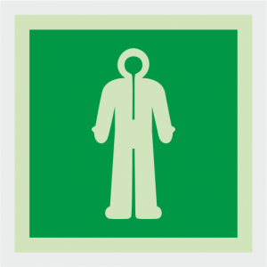 IMO Immersion Safety Suit Sign image