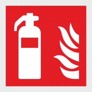 Low LOcation Lighting Fire Extinguisher