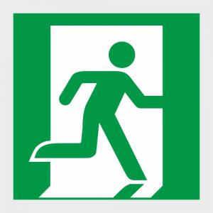 Low Location Lighting Running Man Exit Right