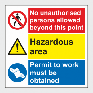 Multiple Purpose Sign image