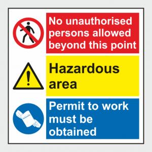 Multiple Purpose Sign 1