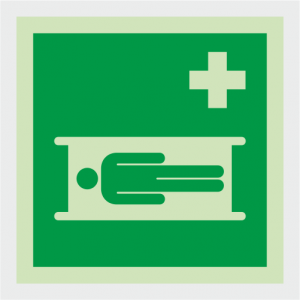 Safe Condition Stretcher Sign image