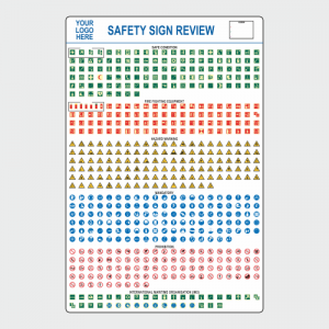 Operational, Informational and Bespoke Boards. Safety sign review board.