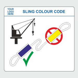 Operational, Informational and Bespoke Boards. Sling colour code board image