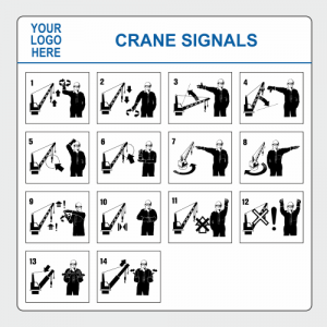 Operational, Informational and Bespoke Boards. Crane signals board image