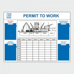 Operational, Informational and Bespoke Boards. Permit to Work Board image