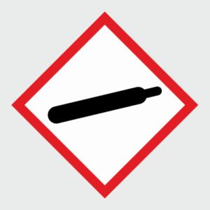 Hazardous Chemical Gas Under Pressure