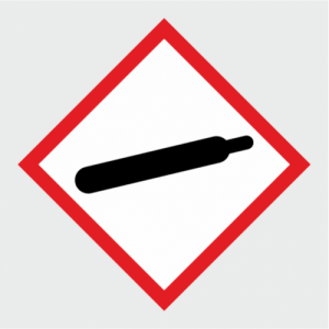 Hazardous Chemical Gas Under Pressure